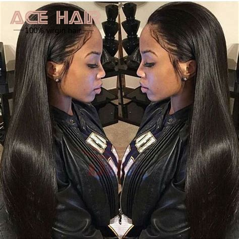 all on one weave hair styles peruvian virgin hair straight 3pcs 7a peruvian straight