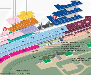 kentucky derby seating maps directions 2018 kentucky derby oaks may 4 and