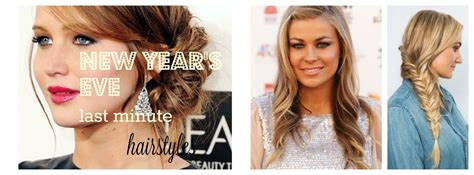 Last Minute Hairstyles by Last Minute Nye Hairstyles Yaraloveshealthy