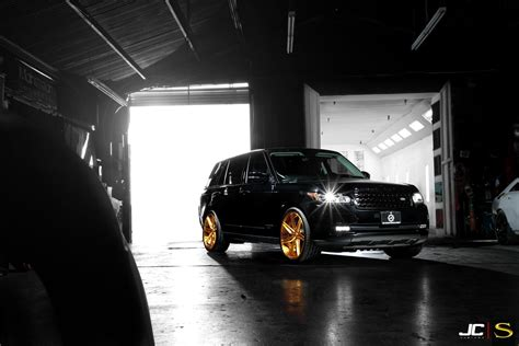 black and gold range rover custom wheels tires blog official blog page 3