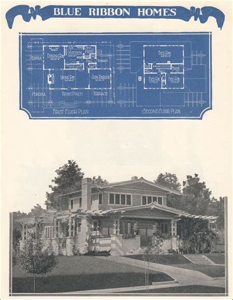 asian airplane bungalow 1924 radford s blue ribbon homes