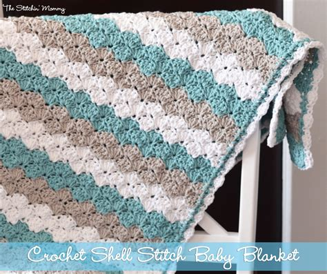 pattern crochet baby blanket shell stitch baby blanket free pattern crochet shell