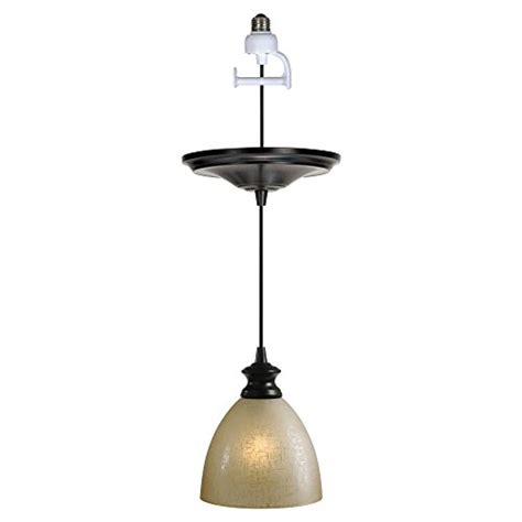 Instant Pendant Light Adapter Review Worth Home Products Instant In Pendant Light With Linen Glass Shade Best