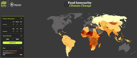 how will climate change affect food security world