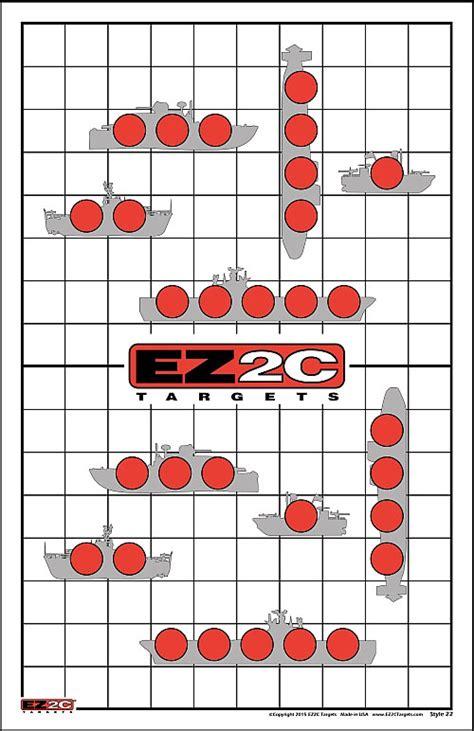 Printable Shooting Targets Battleship   ez2c shooting targets high viz high quality 171 daily