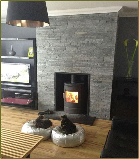black tile fireplace black slate tile fireplace lighting tiled