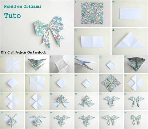 How To Make Paper Bow Tie - best photos of origami bow tie s origami