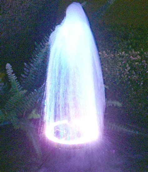 outdoor water fountains with led lights water with led lights design ideas