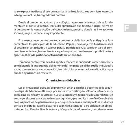 el corn texto completo propuesta did 225 ctica para la ense 241 anza de la lectura y la escritura en