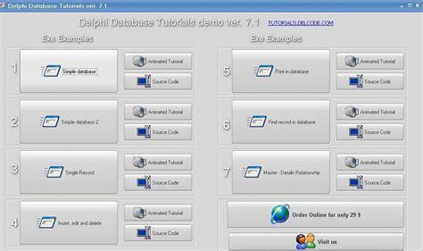 tutorial delphi 7 database nvu tutorial windows fallacy tutorial typing tutorial