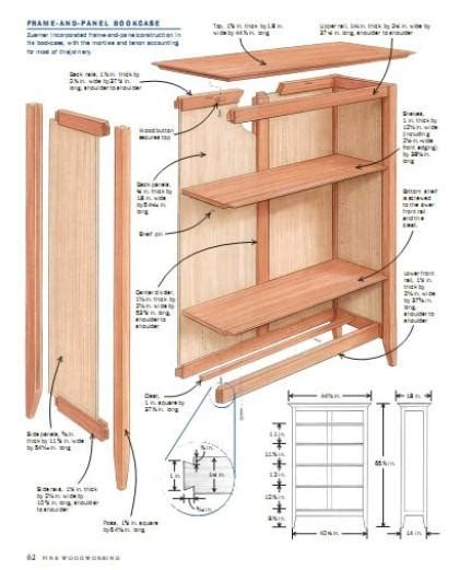woodworking projects bookcase  ideas