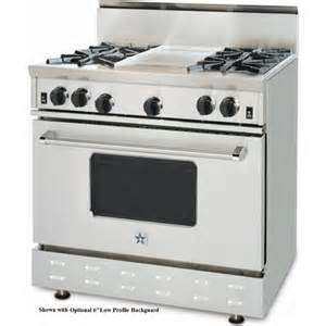 Blue Star Cooktops Rnb364gv1lp Bluestar 36 Quot Gas Range 4 Burners Griddle
