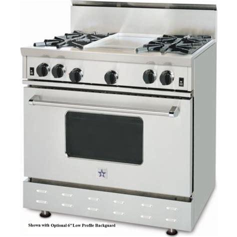 Bluestar Cooktop 36 rnb364gv1lp bluestar 36 quot gas range 4 burners griddle