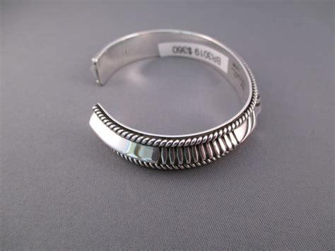 sterling silver navajo cuff bracelet
