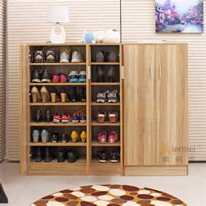 wooden shoe storage cabinet home furniture solid teak wood shoe storage cabinet design