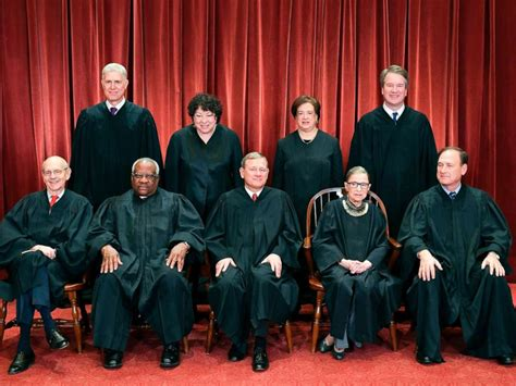 supreme court justices meet all of the sitting supreme court justices ahead of