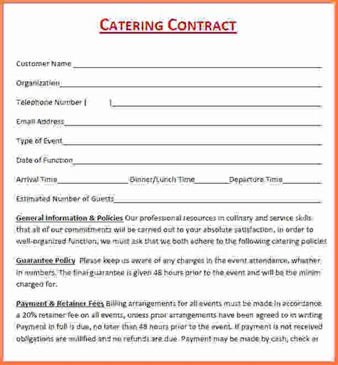 catering contract sles anuvrat info