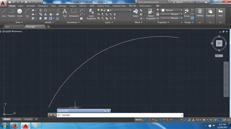 tutorial autocad 2016 how to divide a curve or arc in to equal segments in