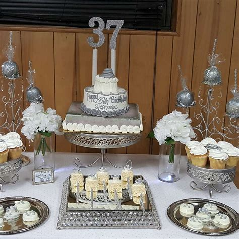All White Decorations by All White Birthday Ideas Photo 1 Of 9