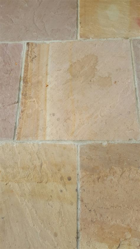 how to clean flagstone stained flagstone cleaning