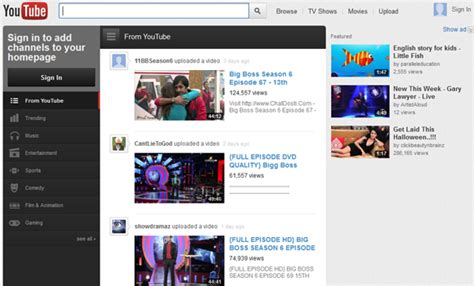 old youtube layout firefox trick to get back old youtube look layout video