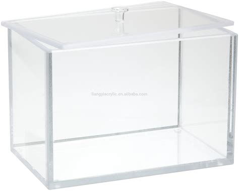 Acrylic Box clear acrylic storage box with lid factory buy acrylic