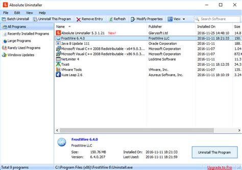 best free program uninstaller 5 best third uninstallers for windows techwiser