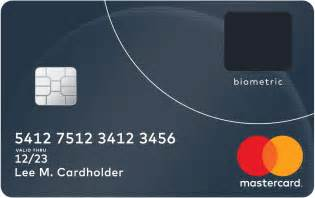 Home Design Credit Card Payment Address Mastercard Unveils Next Generation Biometric Card