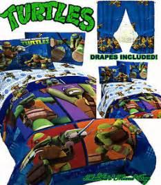 Dolphin Comforter Twin Teenage Mutant Ninja Turtles Boys Twin Full Size Blue