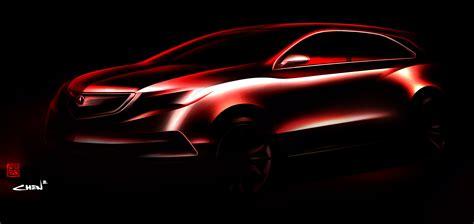 2020 Acura Mdx Detroit Auto Show by 2014 Acura Mdx Prototype Teaser 2013 Detroit Auto Show