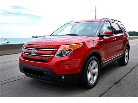 2011 ford explorer reviews 2011 ford explorer prices reviews and pictures u s