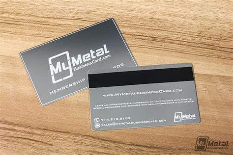 Gift Cards For Clients - metal gift cards with magnetic stripes on behance