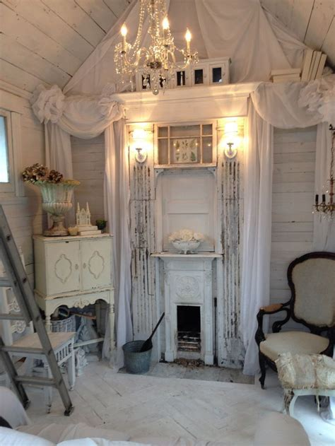 shabby chic shed pictures   images