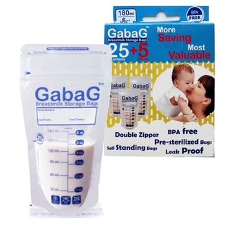 Kantong Asi Gabag 180ml 30pcs gabag storage bag 180ml 30pcs cozy baby