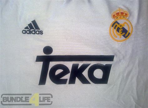 Jersey Spain Home 2000 Alfonso real madrid 1998 2000 jersey sold bundle4life