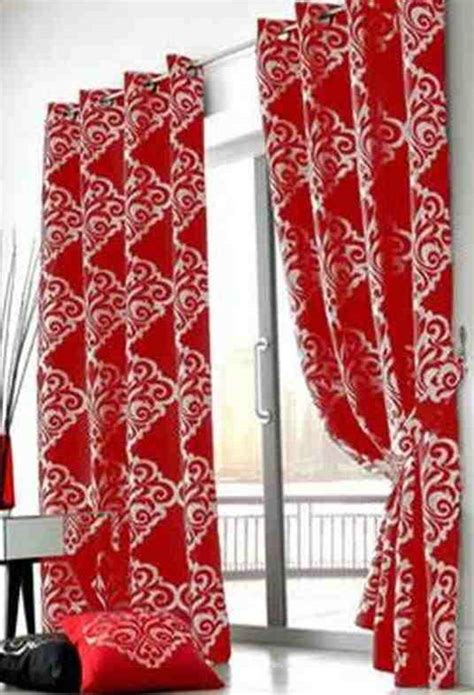 silver and red curtains zoe red and silver damask jacquard lined ring top eyelet