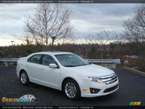 2010 ford fusion light 2010 ford fusion sel white suede medium light