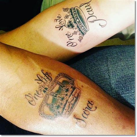 little tattoos for couples 83 small crown tattoos ideas you cannot miss