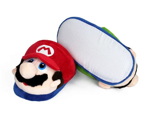 luigi slippers mario and luigi slippers mario brothers slippers