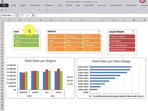 how to learn pivot table in excel 2013 learn the power of excel pivot tables free microsoft