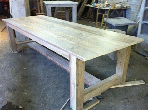 steigerhouten tafel 4 meter kloostertafel van steigerhout 3 meter te koop aangeboden
