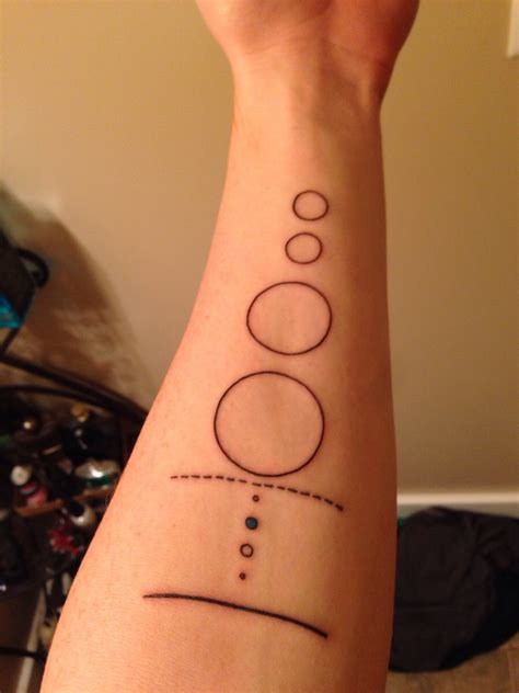 minimalist solar system by the wonderful zoey taylor los