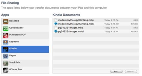 itunes file sharing section how to get free books on your ipad the mac observer