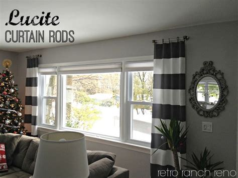 short curtain rods for decoration 17 best ideas about short curtain rods on pinterest