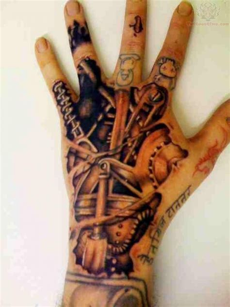 3d mechanical tattoo designs mechanical images designs