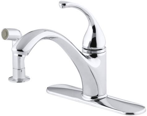 kohler single handle kitchen faucet parts kohler bridge charming kohler k 15171 f single handle kitchen faucet