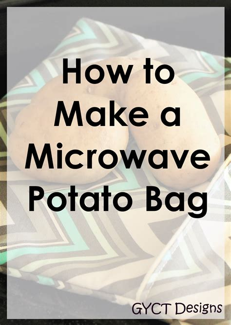 best way to bake a potato the best way to make a microwave baked potato bag gyct