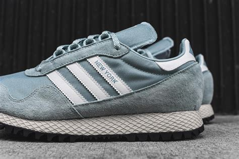 Adidas New York Og Tactile Green Original adidas originals new york silhouette debuts in quot tactile green quot bthinx