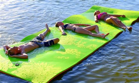 10 water mats 18 x6 water mat float groupon
