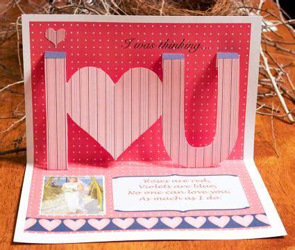 ideas  making homemade pop  cards lovetoknow